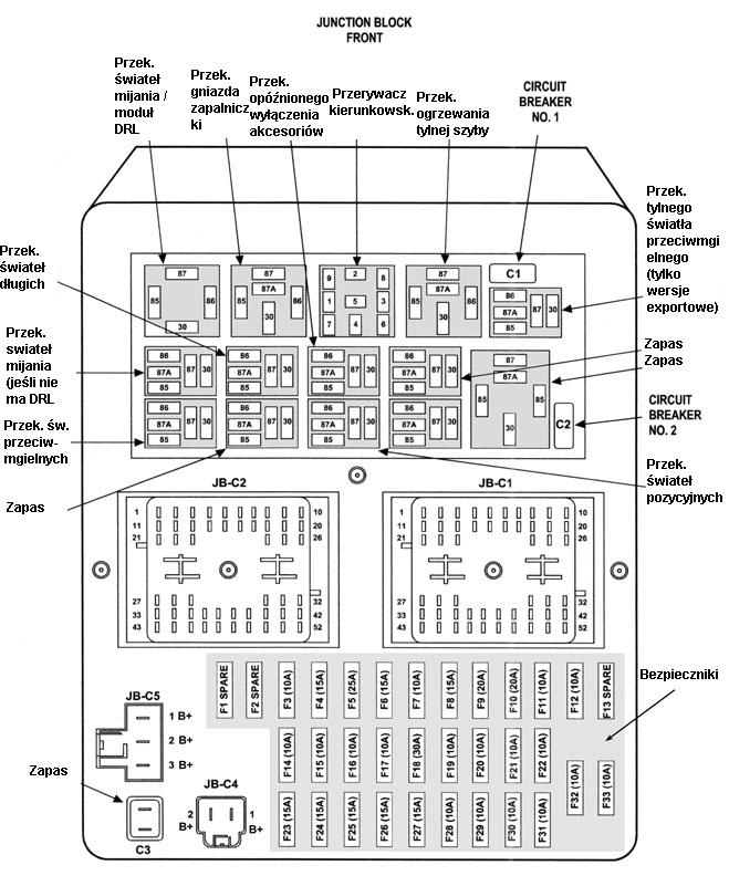 Wj elektryka on wiring diagram for 2 pin flasher relay