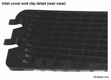 cabin air grill clips